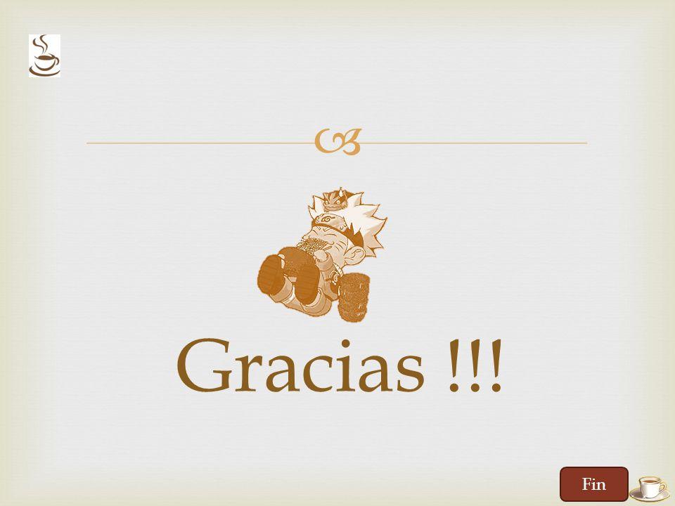 Gracias !!! Fin