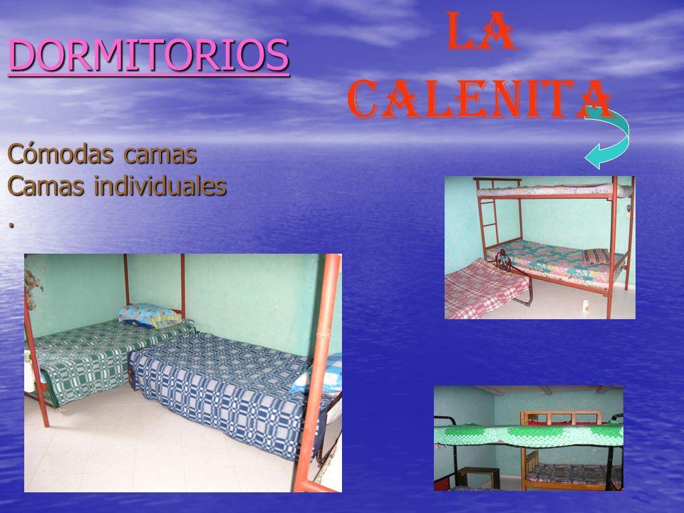 DORMITORIOS Cómodas camas Camas individuales. LA calenita