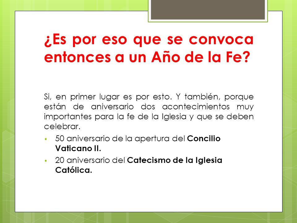 Por último: ¿alguna última recomendación nos hace el Santo Padre.