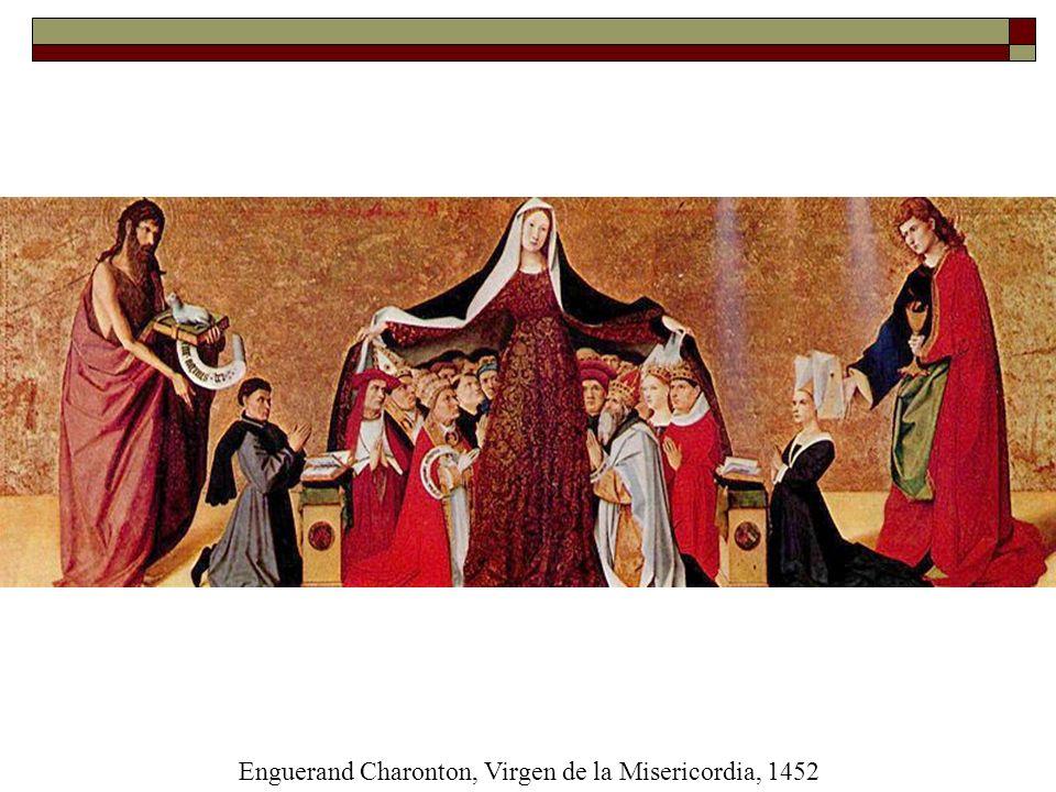 Enguerand Charonton, Virgen de la Misericordia, 1452