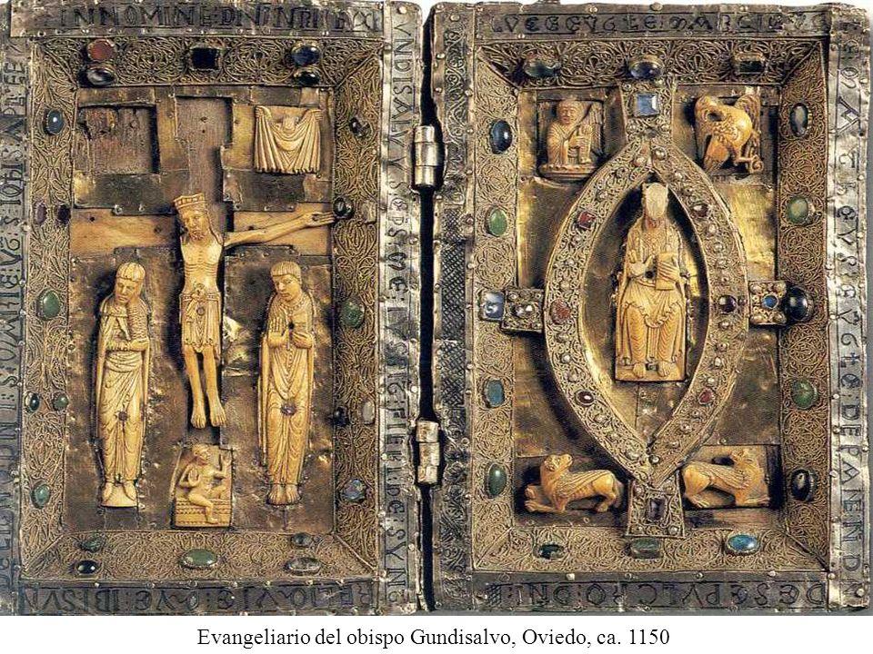 Evangeliario del obispo Gundisalvo, Oviedo, ca. 1150