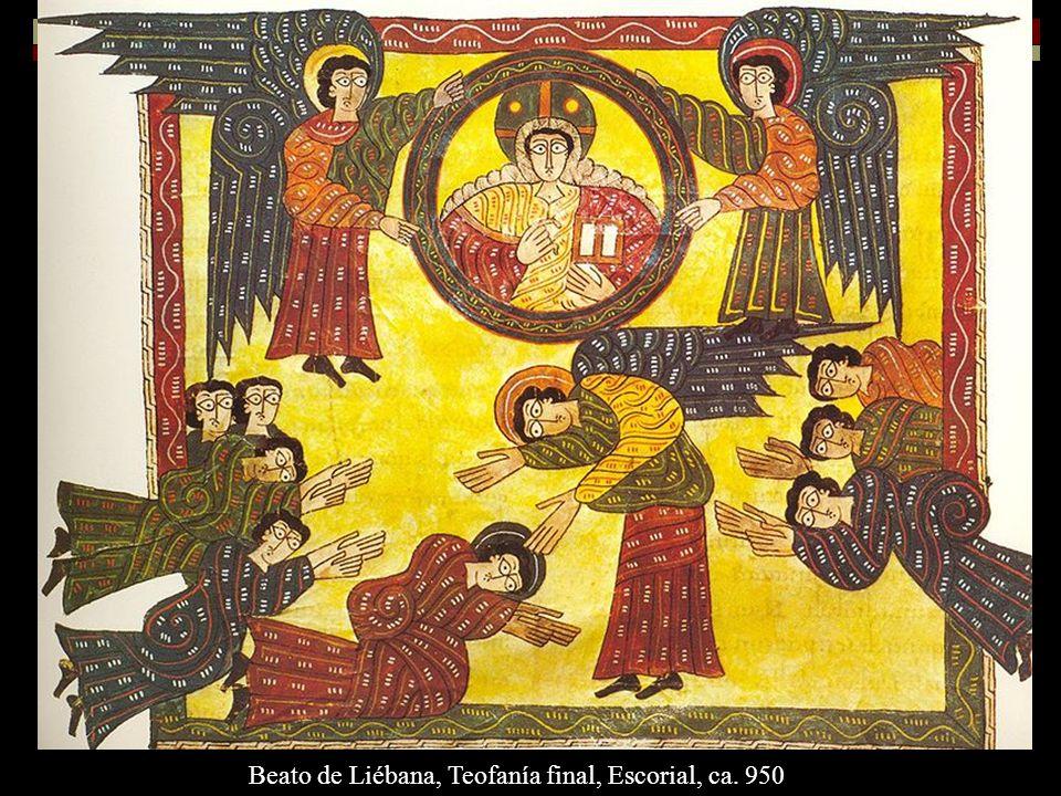 Beato de Liébana, Teofanía final, Escorial, ca. 950