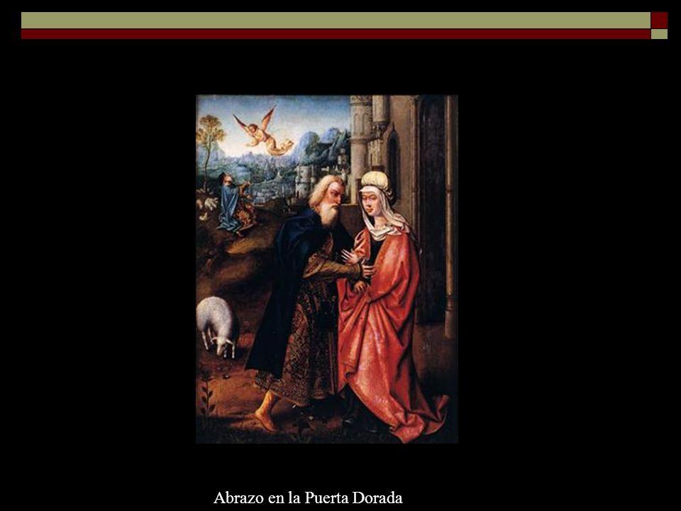 Alejo Fernández, Nacimiento de María, 1508Lorenzetti, Natividad de María, 1342