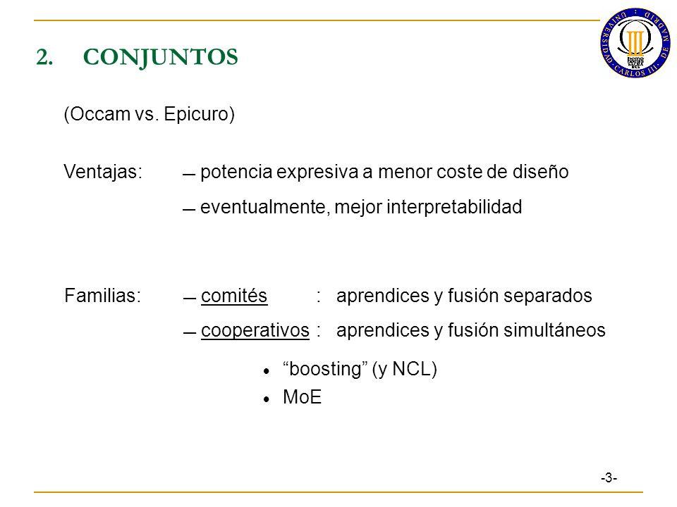 2.CONJUNTOS -3- (Occam vs.