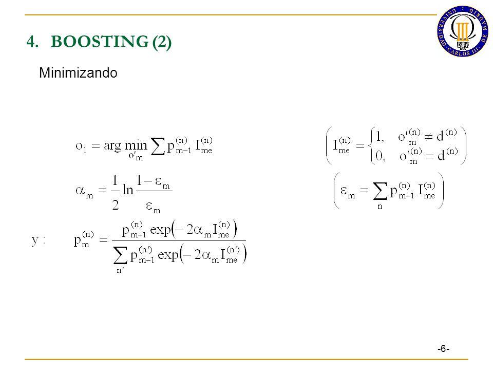4.BOOSTING (2) -6- Minimizando