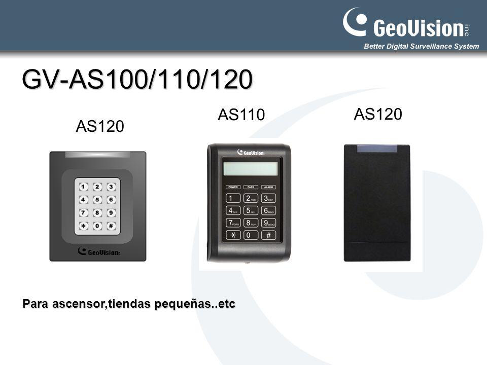 GV-AS100/110/120 AS120 AS110 Para ascensor,tiendas pequeñas..etc AS120
