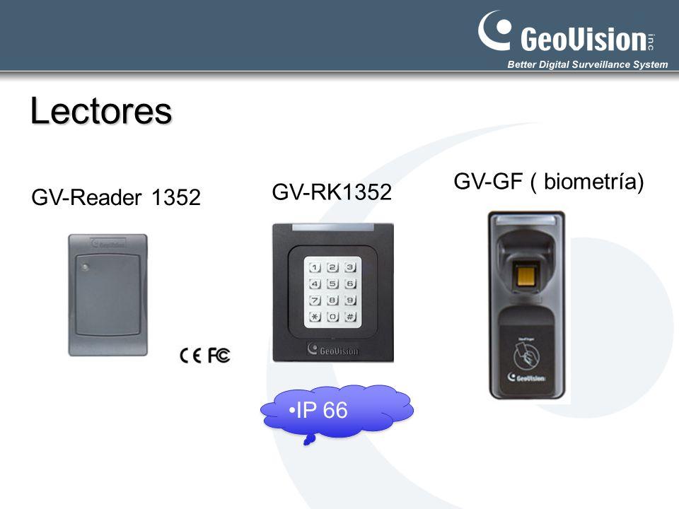 Lectores GV-Reader 1352 GV-GF ( biometría) GV-RK1352 IP 66