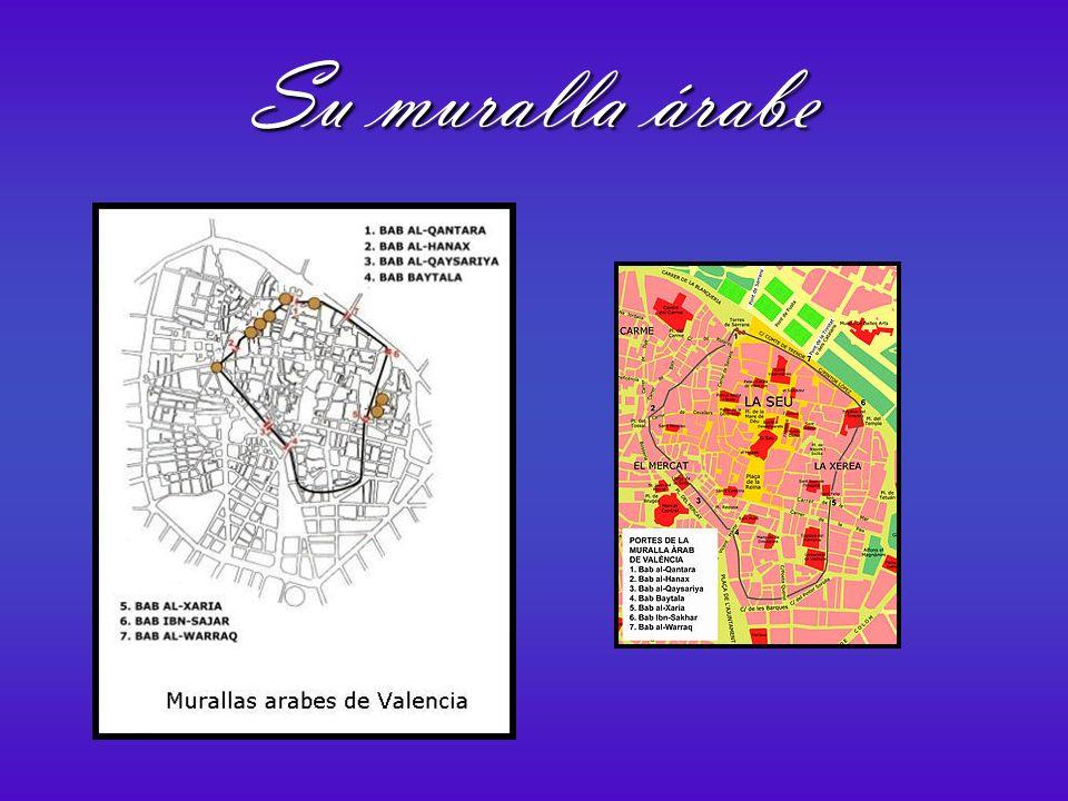 Valencia fue conquistada en el 714 por los musulmanes al mando de Tarik.