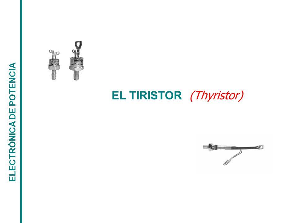 EL TIRISTOR ELECTRÓNICA DE POTENCIA EL TRIAC - Curva Característica