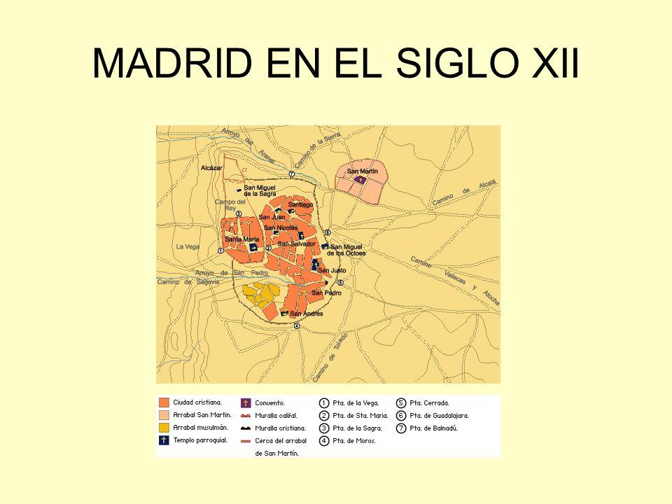 MADRID EN EL SIGLO XII