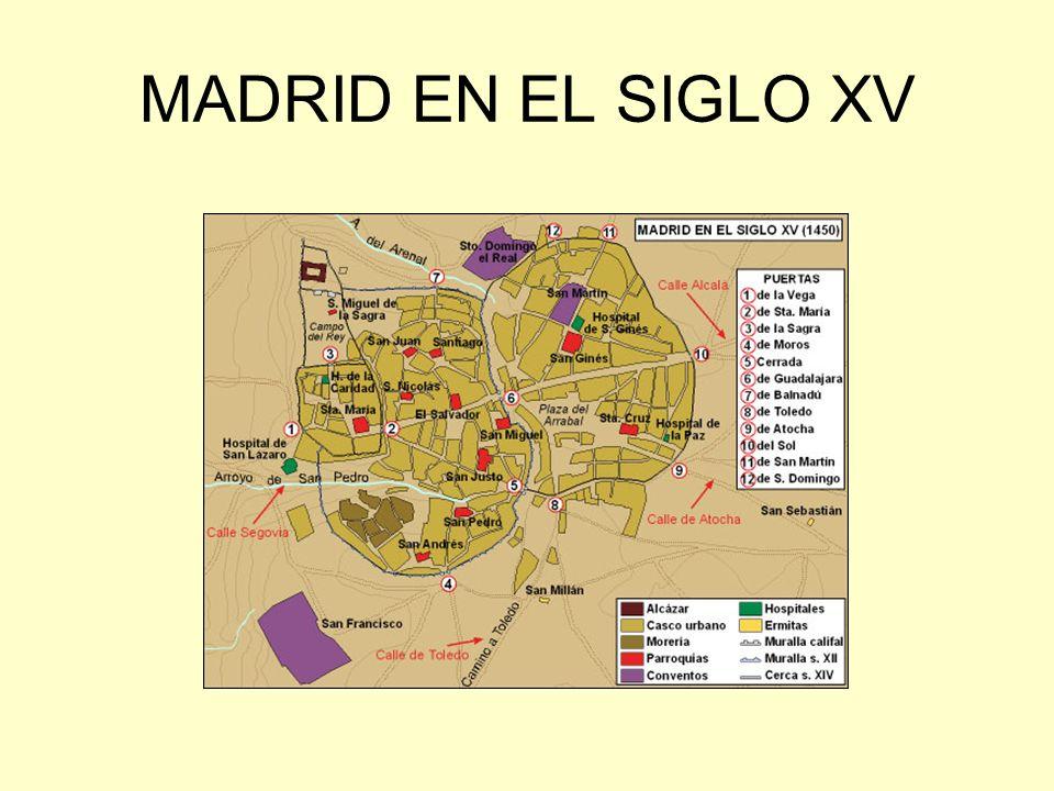 MADRID EN EL SIGLO XV