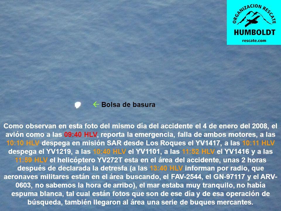HIPÓTESIS DE COMO SALIO EL COPILOTO DEL YV2081 Ubicación del copiloto y del salvavidas Hipotéticamente hablando, estimamos que el copiloto, pudo abrir