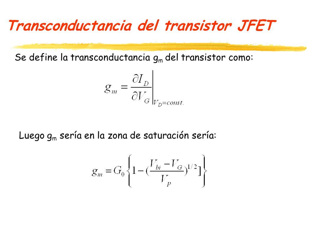 Transistor JFET -Ejercicio - Como serían las ecuaciones de corriente para un transistor JFET tipo P (canal P).