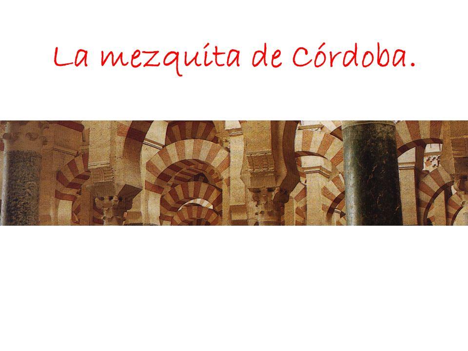 Planta del alminar de Abderramán III y relieve del antiguo minarete en la puerta de Santa Catalina.