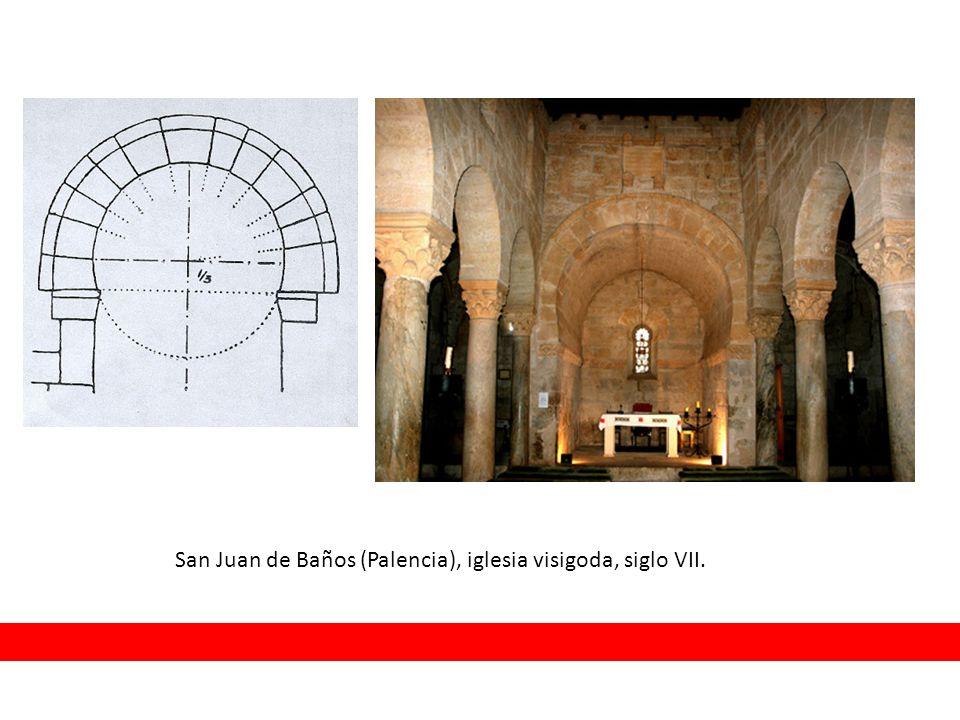 San Juan de Baños (Palencia), iglesia visigoda, siglo VII.