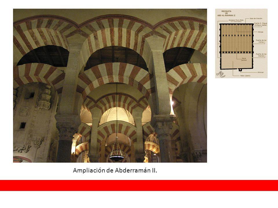 Ampliación de Abderramán II.