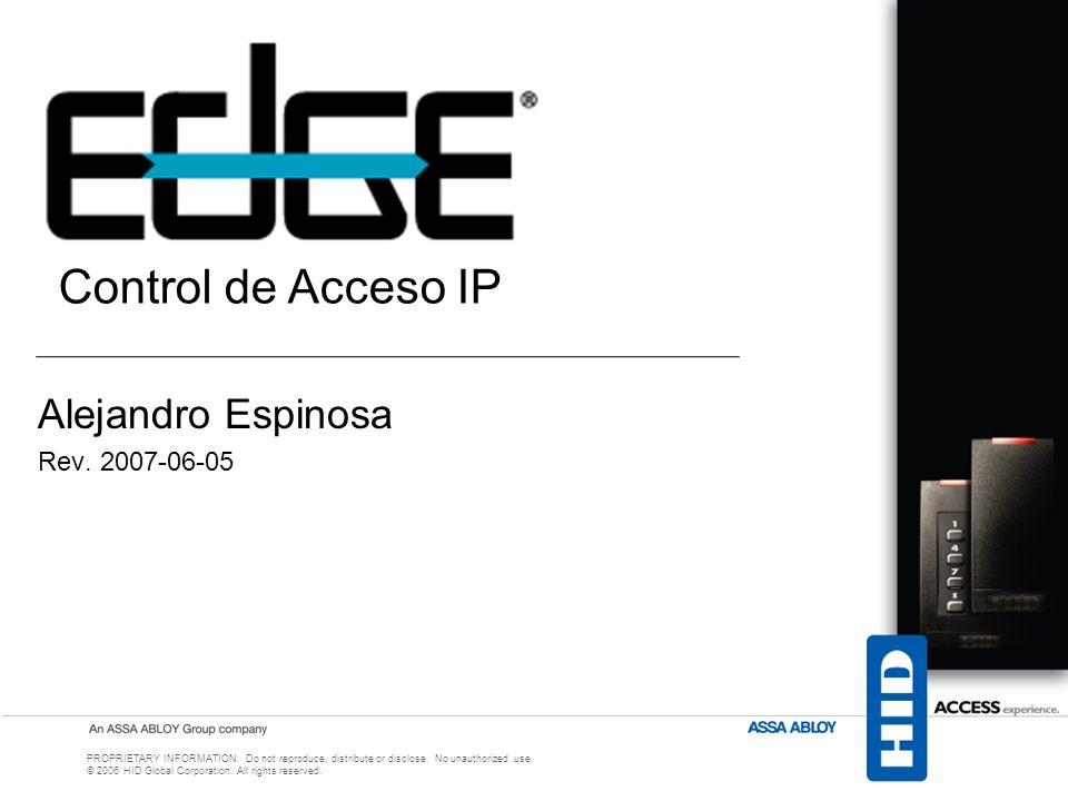 Control de Acceso (Topología tradicional)