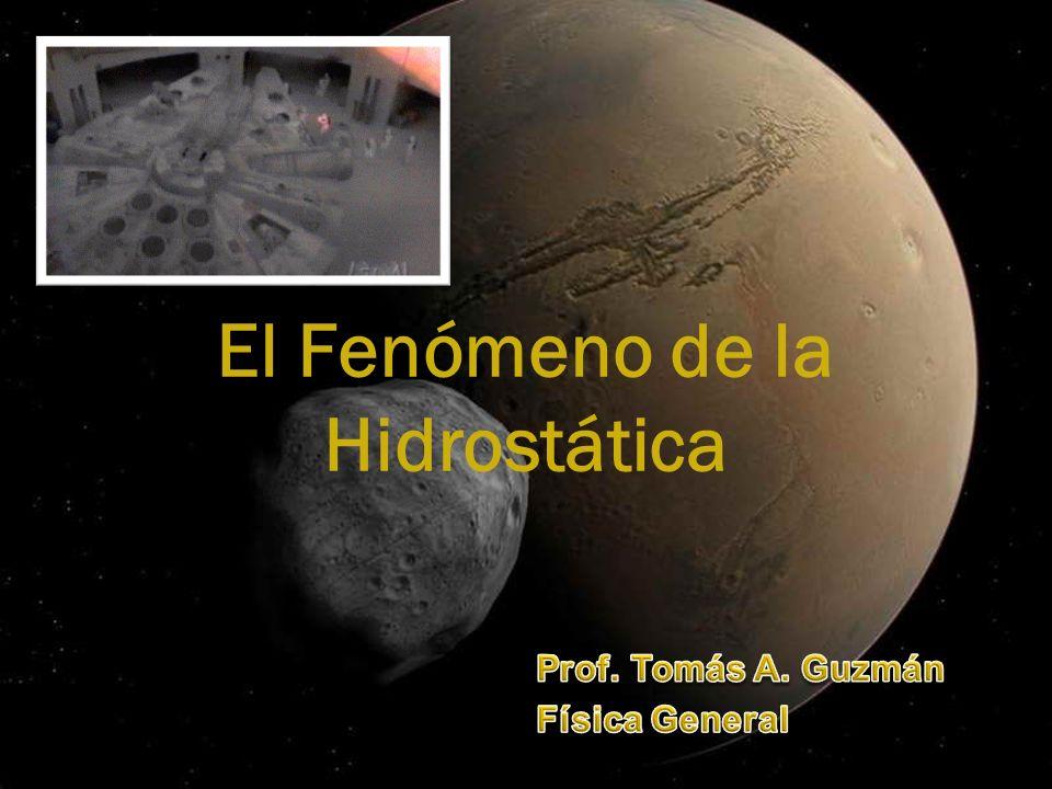 DISTRIBUCIÓN TEMÁTICA: Objetivos Hidrostática Principio de Pascal Principio de Arquímedes