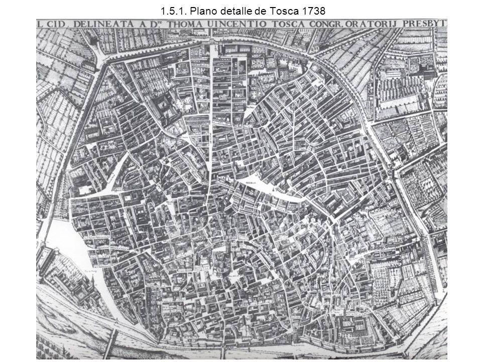1.5.1. Plano detalle de Tosca 1738