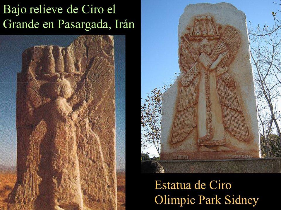 Mausoleo de Ciro en Pasargada (Irán) Ciro era hijo de Cambises I de la dinastía aqueménida de Anshan