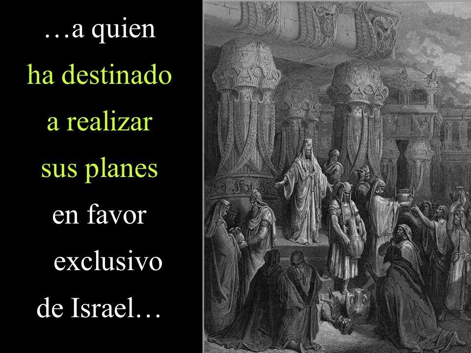 …liberándolo de Babilonia y otorgándole la posibilidad de volver a su patria para reconstruir la ciudad
