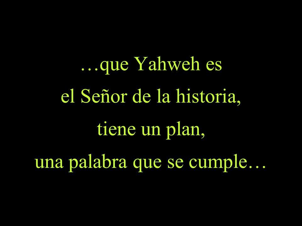 Isaías 46,10-11 46,10 Yo anuncio desde el principio lo que viene después y desde el comienzo lo que aún no ha sucedido.