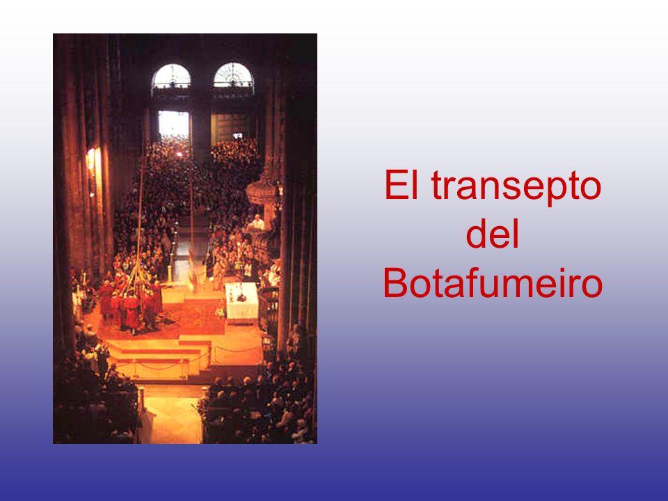 El transepto del Botafumeiro