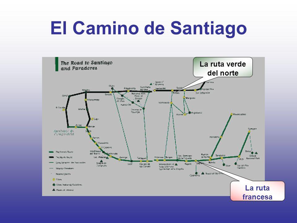 El Camino de Santiago La ruta verde del norte La ruta francesa