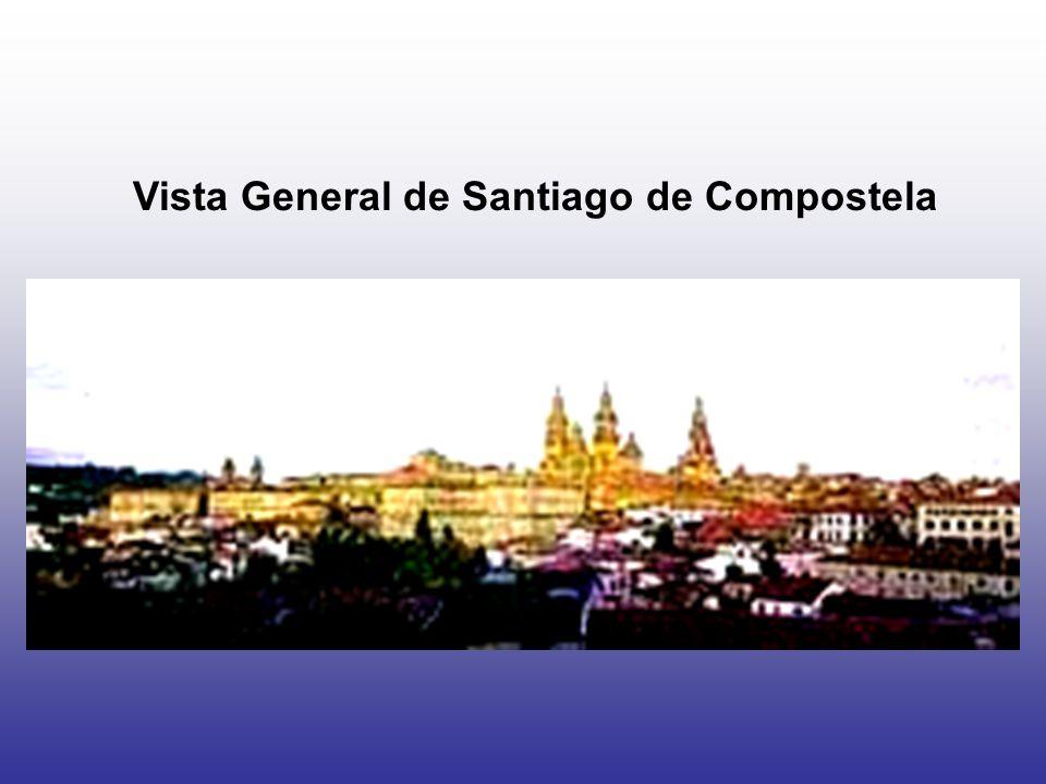 Vista General de Santiago de Compostela