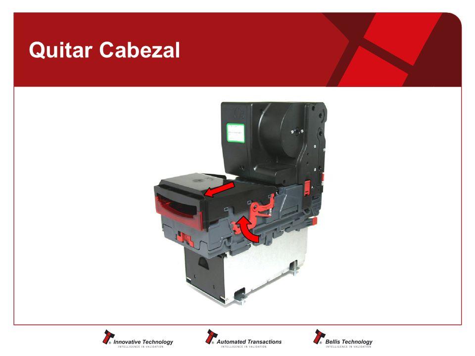 Quitar Cabezal