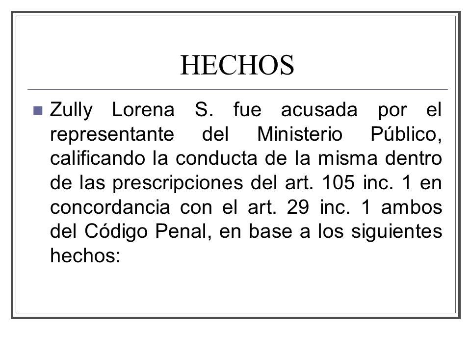 HECHOS Zully Lorena S.