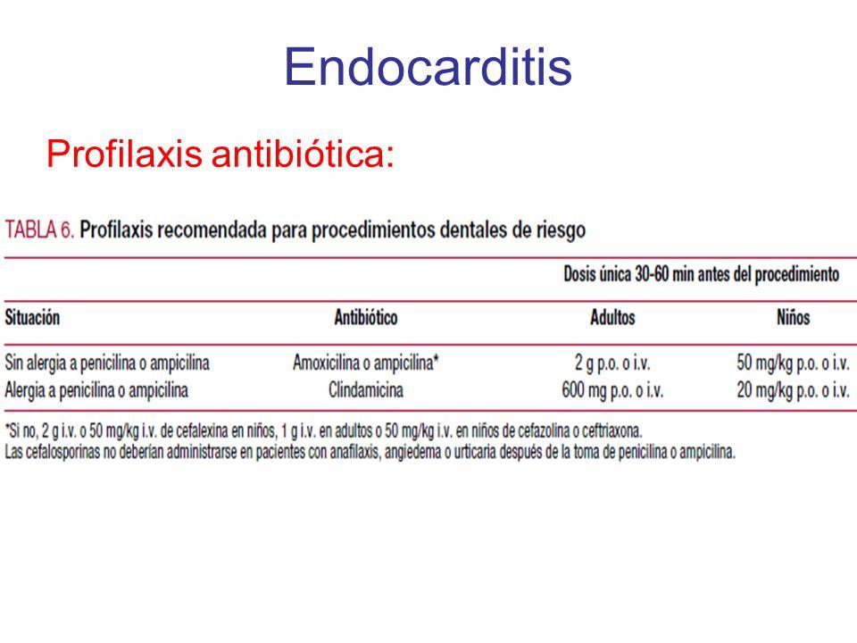 Profilaxis antibiótica: