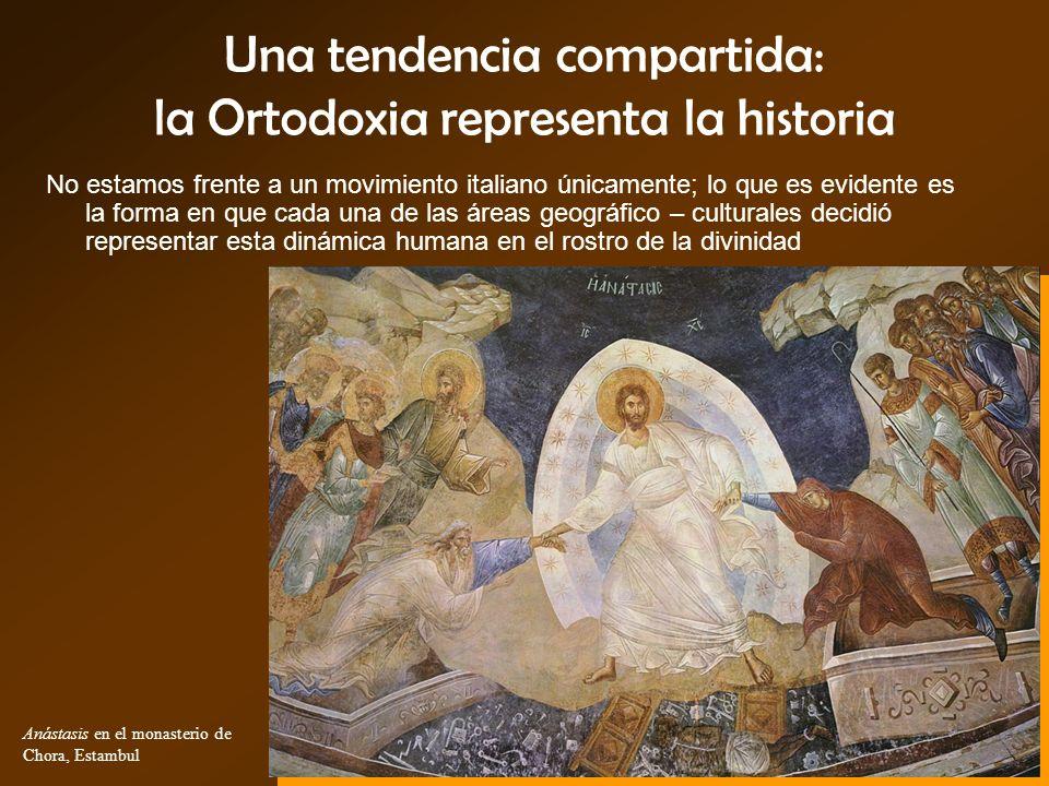 Una tendencia compartida: la Ortodoxia representa la historia No estamos frente a un movimiento italiano únicamente; lo que es evidente es la forma en