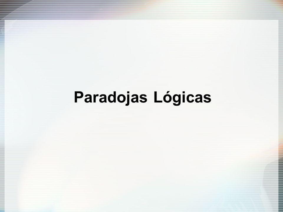 Paradojas Lógicas