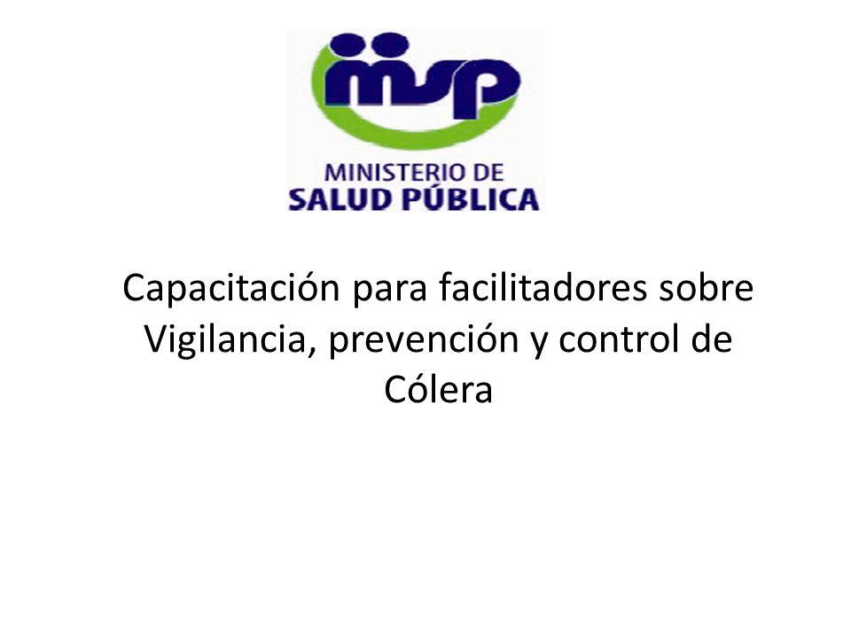 Capacitación para facilitadores sobre Vigilancia, prevención y control de Cólera