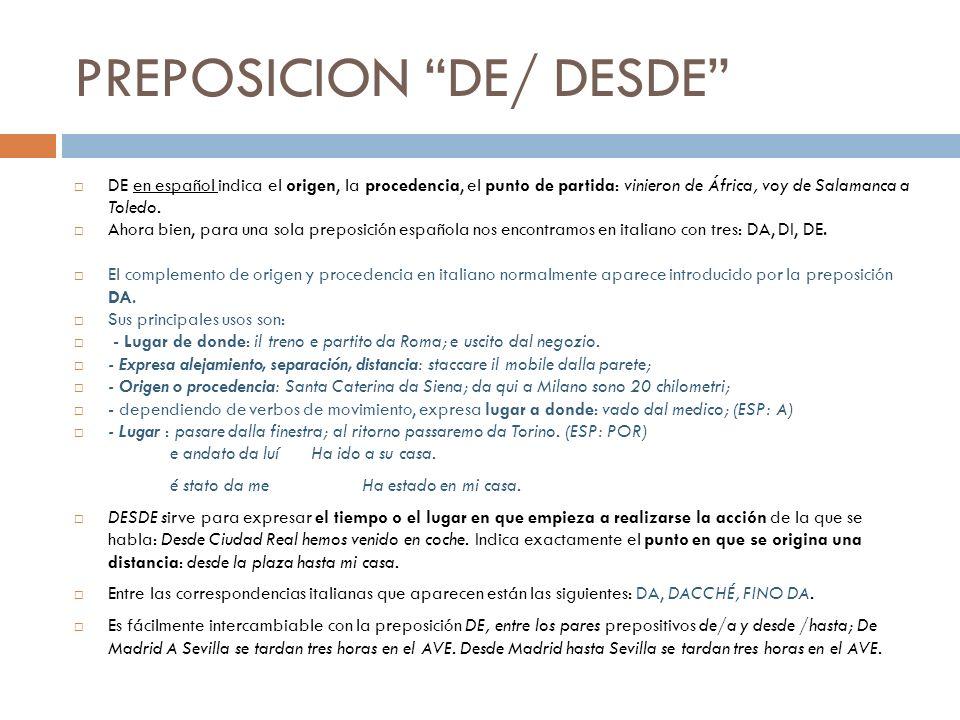 PREPOSICION HACIA Expresa dirección en los siguientes términos.