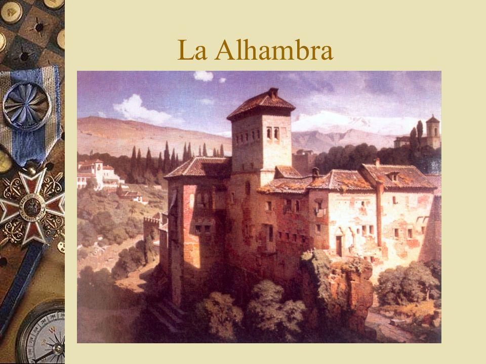 Y la Alhambra, en Granada, hoy De día…