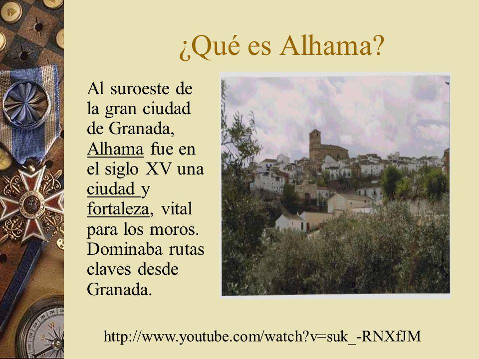 ¿Qué es Alhama.