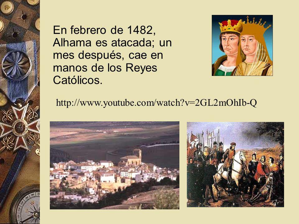 ¿Qué es Alhama? Al suroeste de la gran ciudad de Granada, Alhama fue en el siglo XV una ciudad y fortaleza, vital para los moros. Dominaba rutas clave