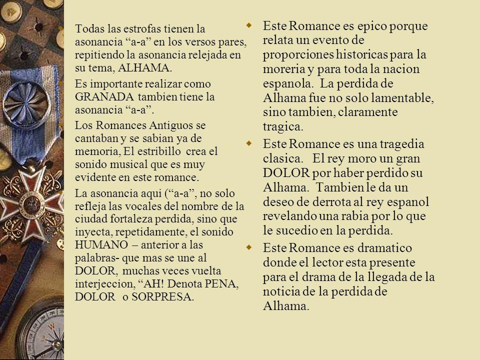 Analisis del poema Un poema romance hitorico sobre la guerra de Granada donde los moros y judios fueron hechados fuera porque no eran Christianos La e