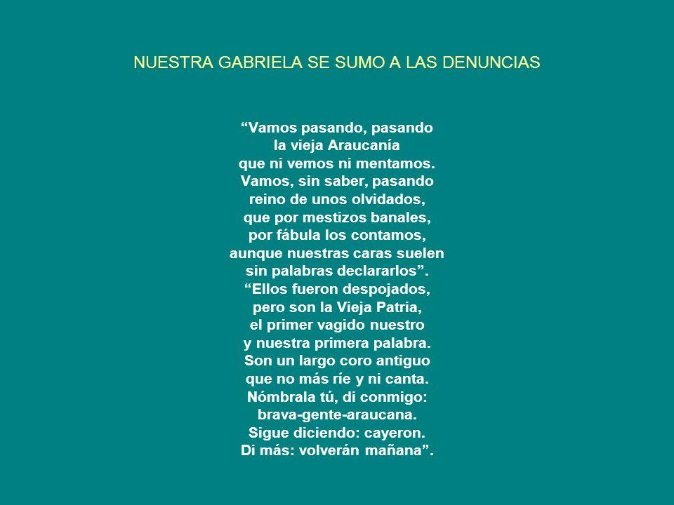 LAS REACCIONES DE ALGUNOS DIRIGENTES MAPUCHE Ya, a comienzos de siglo XX, Manuel Manquilef protestaba por el trato que recibía el pueblo mapuche.