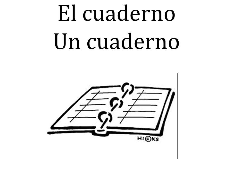 El cuaderno Un cuaderno