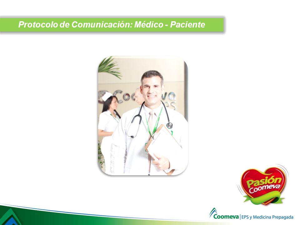 Protocolo de Comunicación: Médico - Paciente