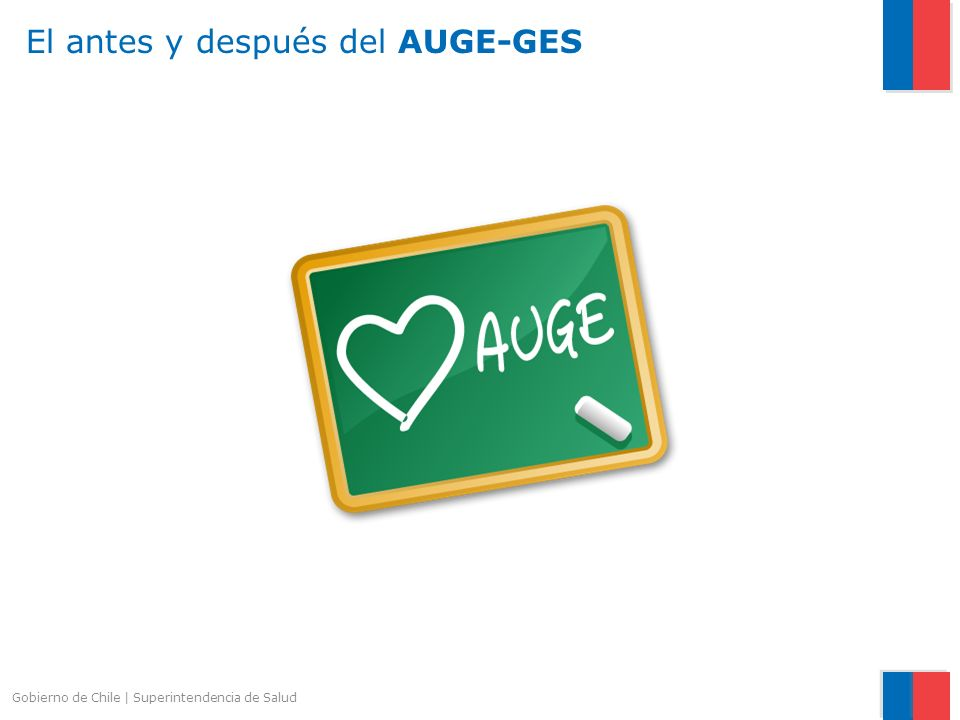 Gobierno de Chile   Superintendencia de Salud El antes y después del AUGE-GES