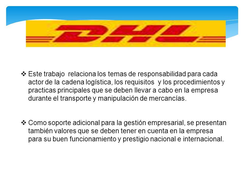 ¿Cómo es el embalaje de productos de DHL.