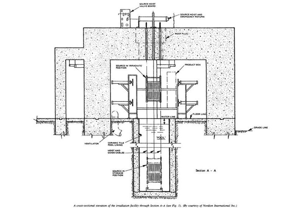 El accidente Ocurrido el 5 de febrero de 1989 cuando contenedores de fibra de vidrio dañados trabaron el mecanismo de transporte del irradiador, forzando cinco contenedores en el espacio de cuatro.