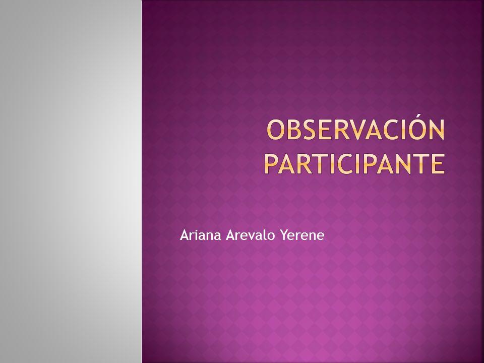 Ariana Arevalo Yerene