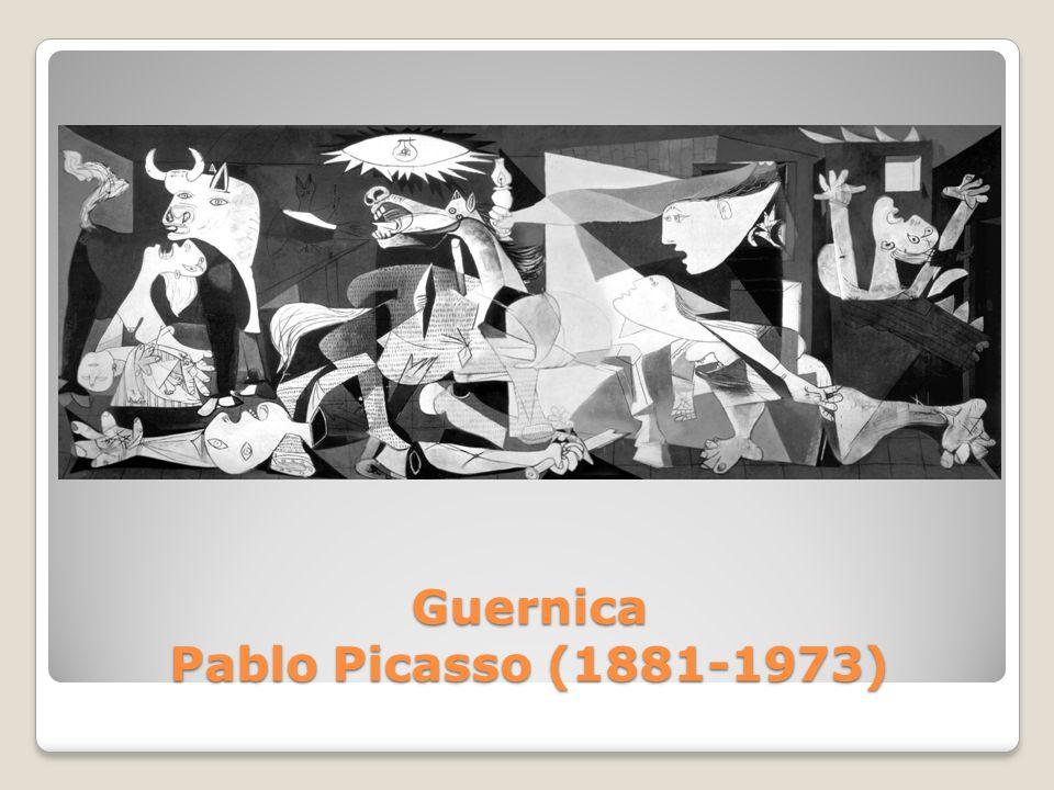 Guernica Pablo Picasso (1881-1973)