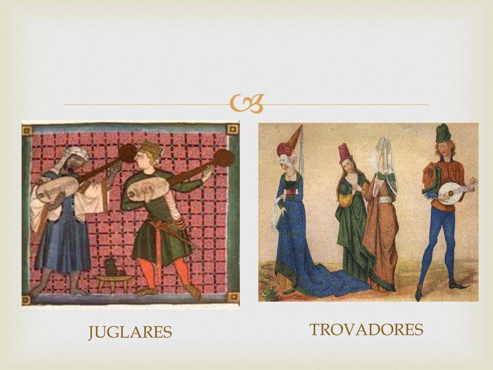 JUGLARES TROVADORES