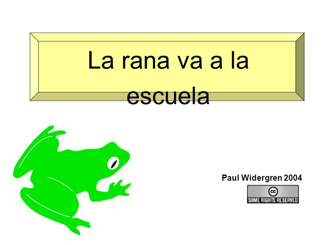 La rana va a la escuela Paul Widergren 2004